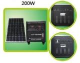 200W photovoltaick� syst�m pre dom�cnos�
